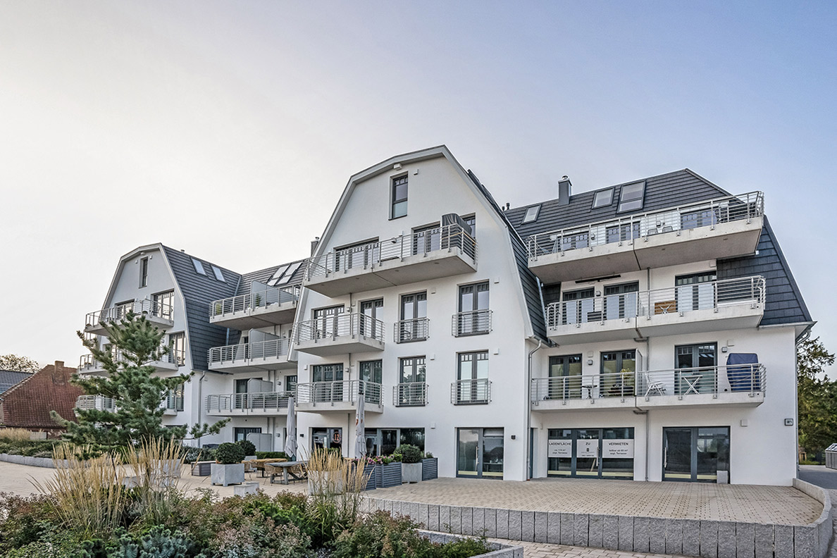 Aussenansicht Projekt Strandstrasse 140 · Niendorf / Ostsee
